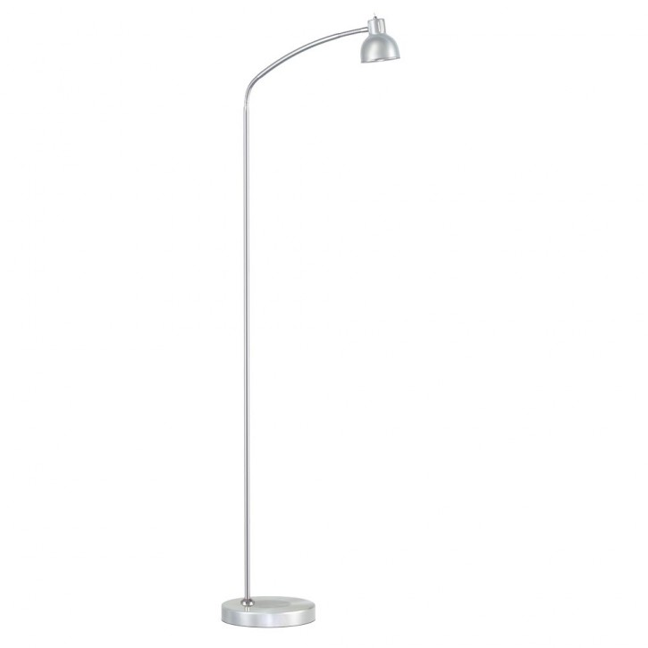 LED Stehleuchte DUETT alu/chrome 5W Nordlux 250093 EEK=A++…A