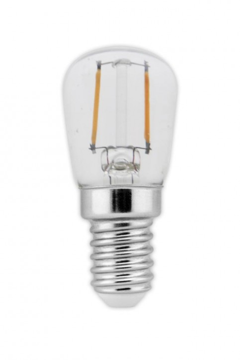 Calex LED Full Glass Filament Pilot lamp 240V 1W 100lm E14 T26x58