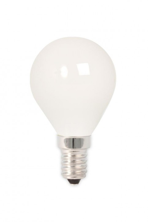 Calex LED Full Glass Filament Ball-lamp 240V 3,5W 350lm E14 P45