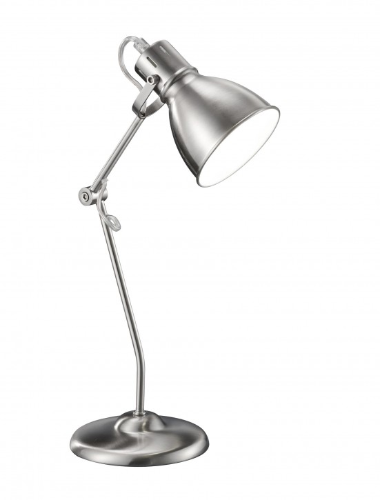 Lampe de table Jasper Nickel mat Trio 500500107 CEE=A++ ... E