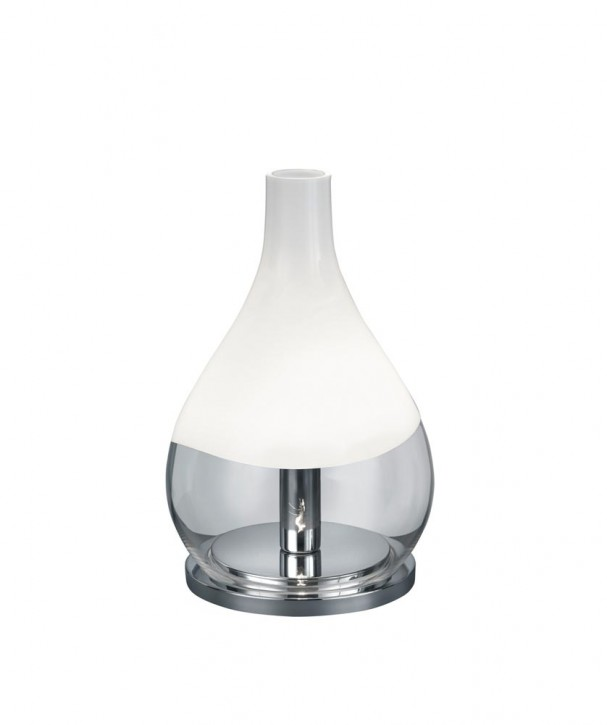 Lampe de table Kingston chrome Trio 515300106 CEE=A++ ... E