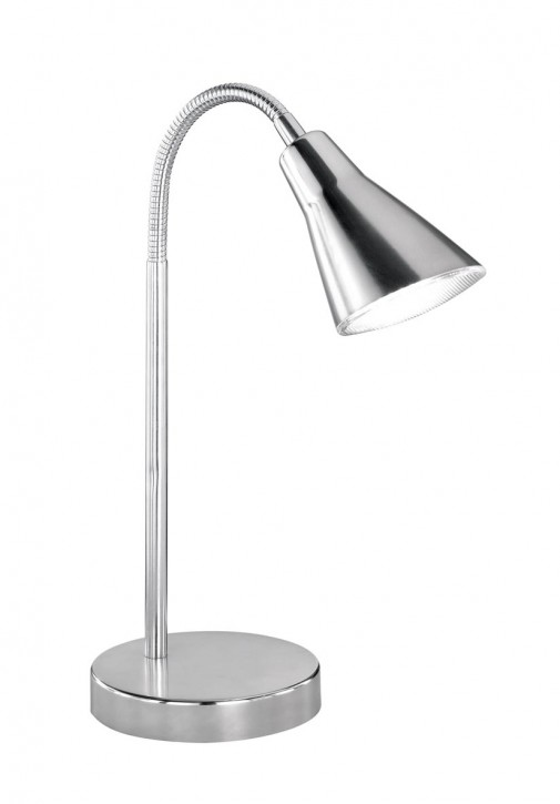 LED Tischleuchte Preto Nickel matt Trio 528310107 EEK=A++ ... A