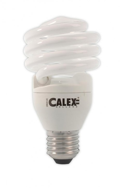 Calex T2 twister E-saving lamp 240V 24W E27, Daylight 6500K