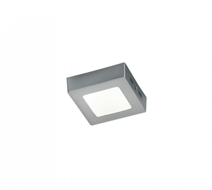 LED Plafonnier  Zeus Nickel mat Trio 657110607 CEE=A++ ... A