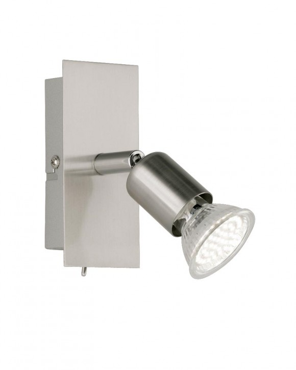 LED Strahler Nimes Nickel matt Reality R82941107 EEK=A++ … E